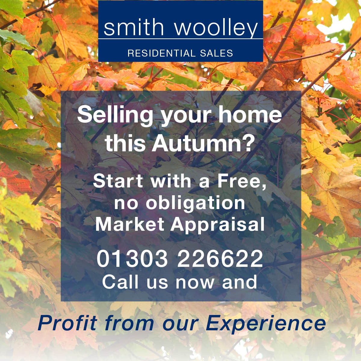 Selling your home this Autumn? Start with a free, no obligation market appraisal